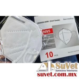 Cubrebocas KN95 bolsa de 10 pz - SUVET