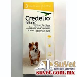 Credelio ® 1.3 - 2.5 kg caja de 3 tabletas - SUVET