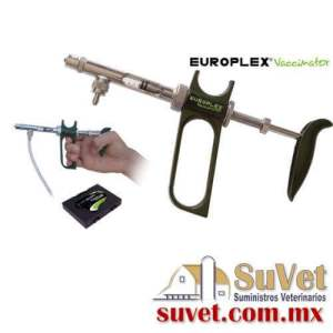 Vacunador Europlex plus 1  ml con tubo (sobre pedido) pieza - SUVET