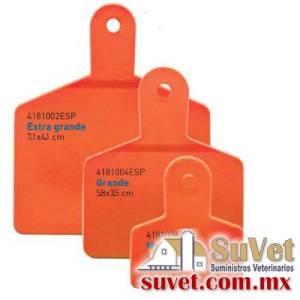 Arete Markiflex mediano naranja s/n 50 pzas (sobre pedido) bolsa de 50 pz - SUVET