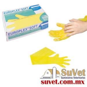 Guantes para inseminacion Europlex soft 100 u (sobre pedido) caja de 100 pz - SUVET