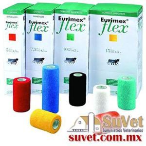 Eurimex flex 4.5 x 5 cm rojo (sobre pedido) caja de 10 pz - SUVET