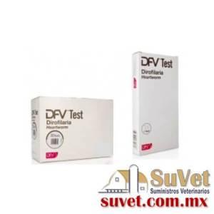 DFV test dirofilaria (sobre pedido) caja de 10 pz - SUVET
