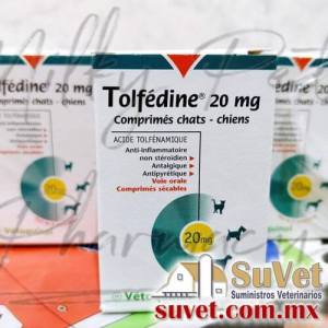 Tolfédine ® caja de 8 comprimidos - SUVET