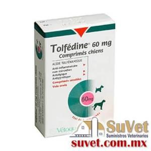 Tolfédine ® caja de 16 comprimidos - SUVET