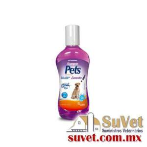 Pets Shampoo Lavander 250 ml frasco de 250 ml - SUVET