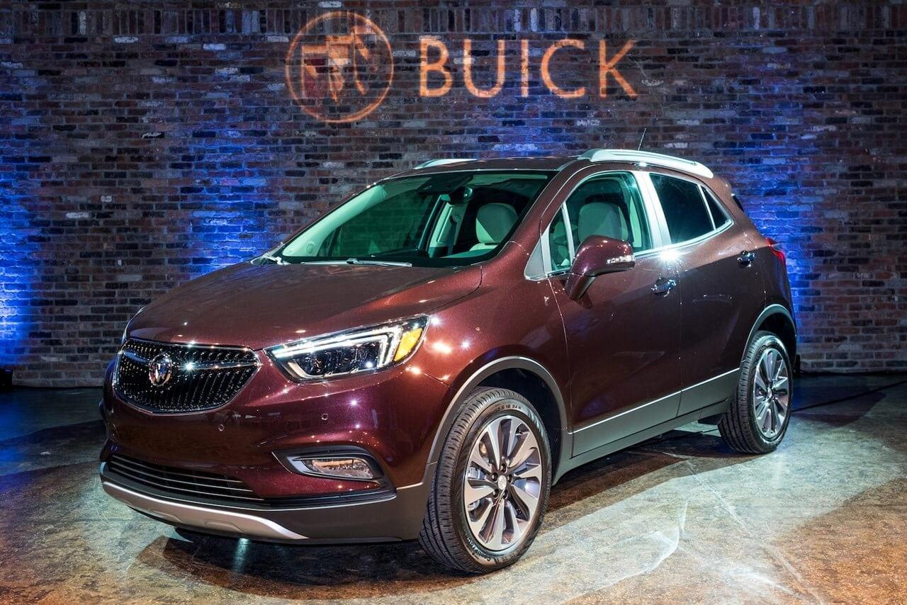 2020 Buick Encore Sport Interior