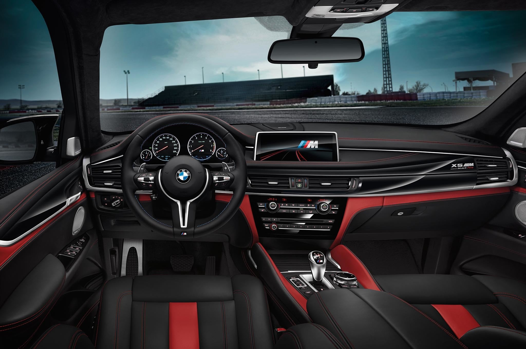 bmw introduces black fire edition x5 and x6 m automobile magazine Concept