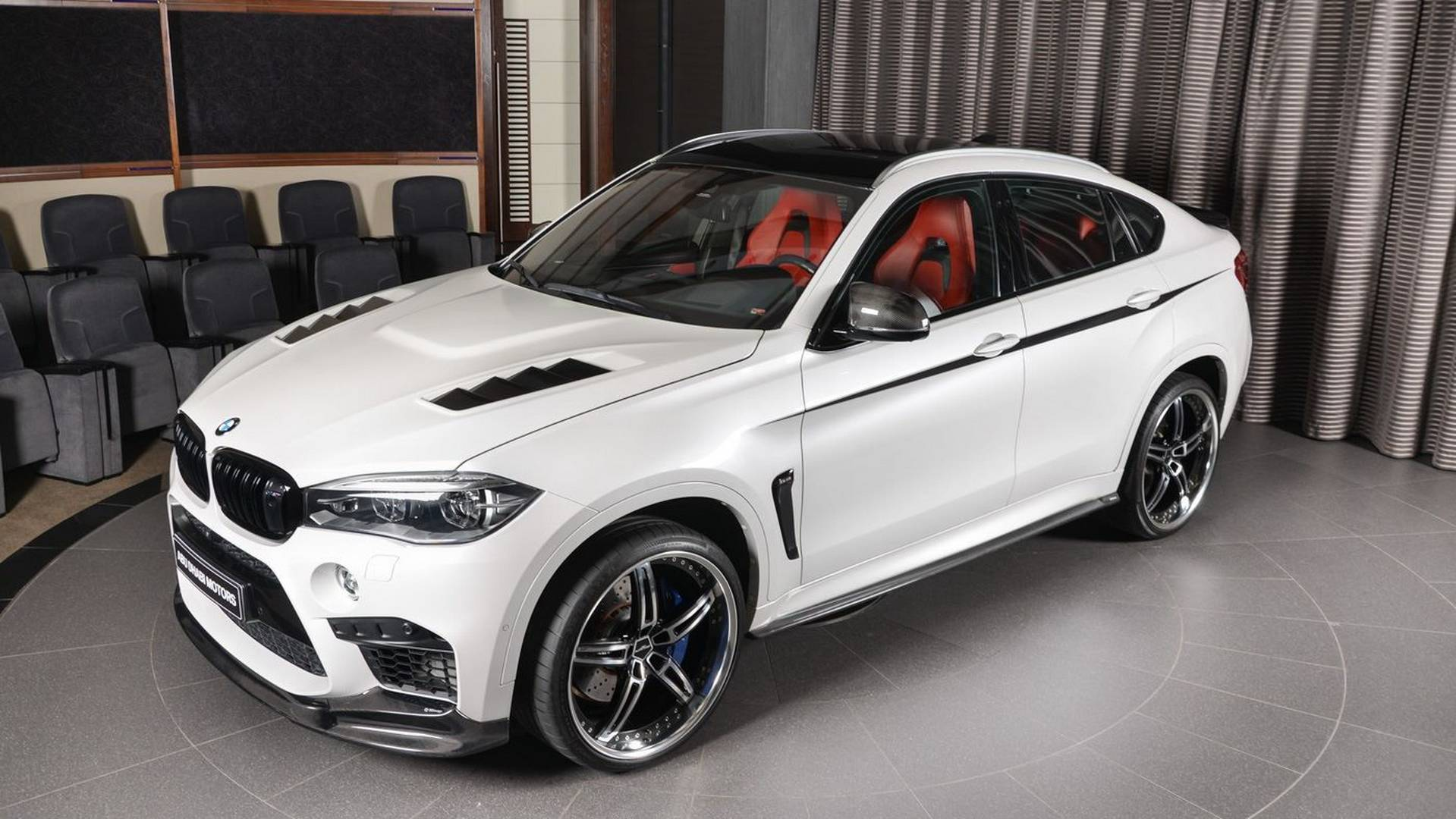 bmw x6 m with 23 inch wheels makes the urus look restrained Engine