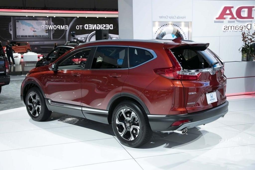 2019 Honda CR V Spy Shots