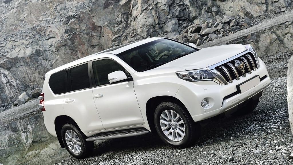 2019 Toyota Land Cruiser Prado Interior