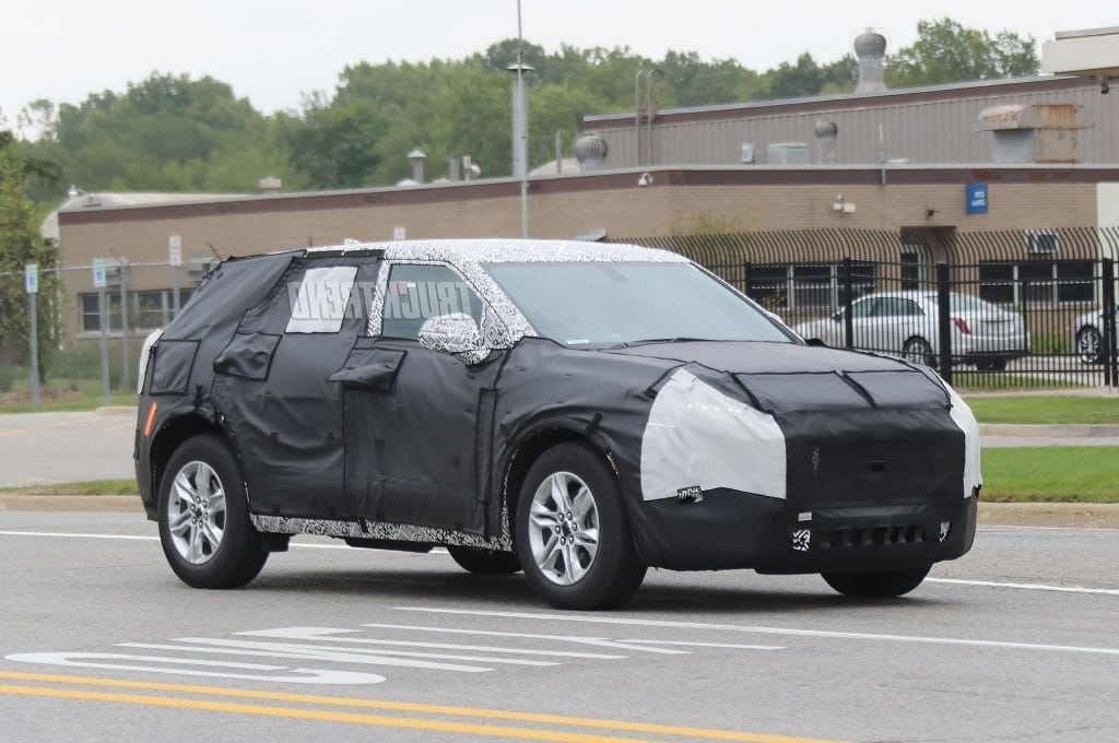 2020 Chevrolet Blazer Spy Photos