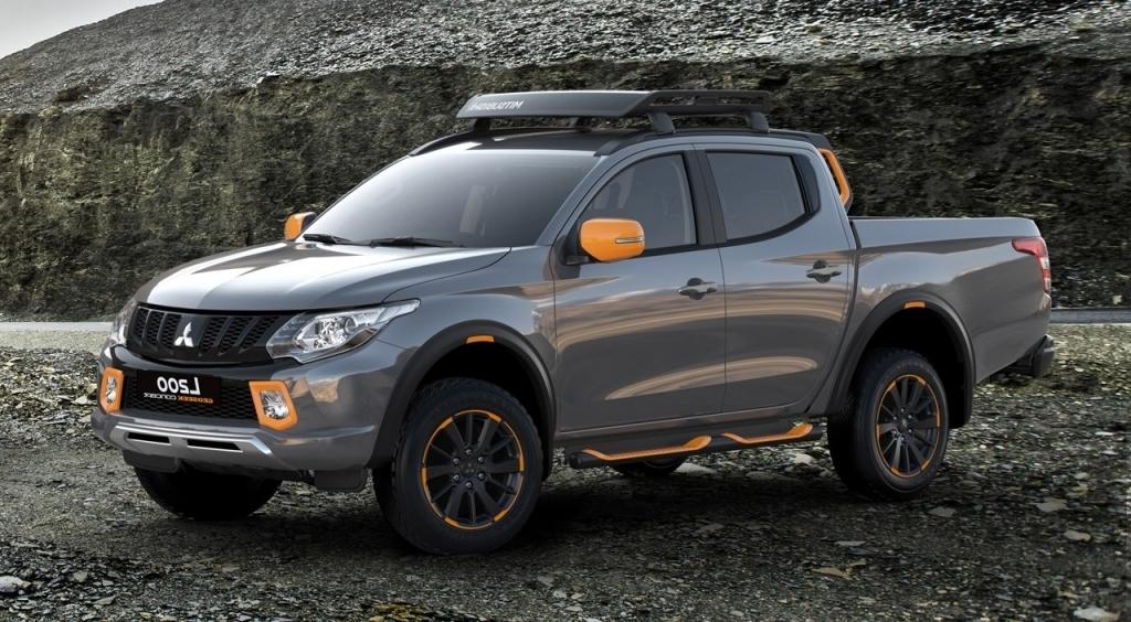2020 Mitsubishi Triton Spy Shots