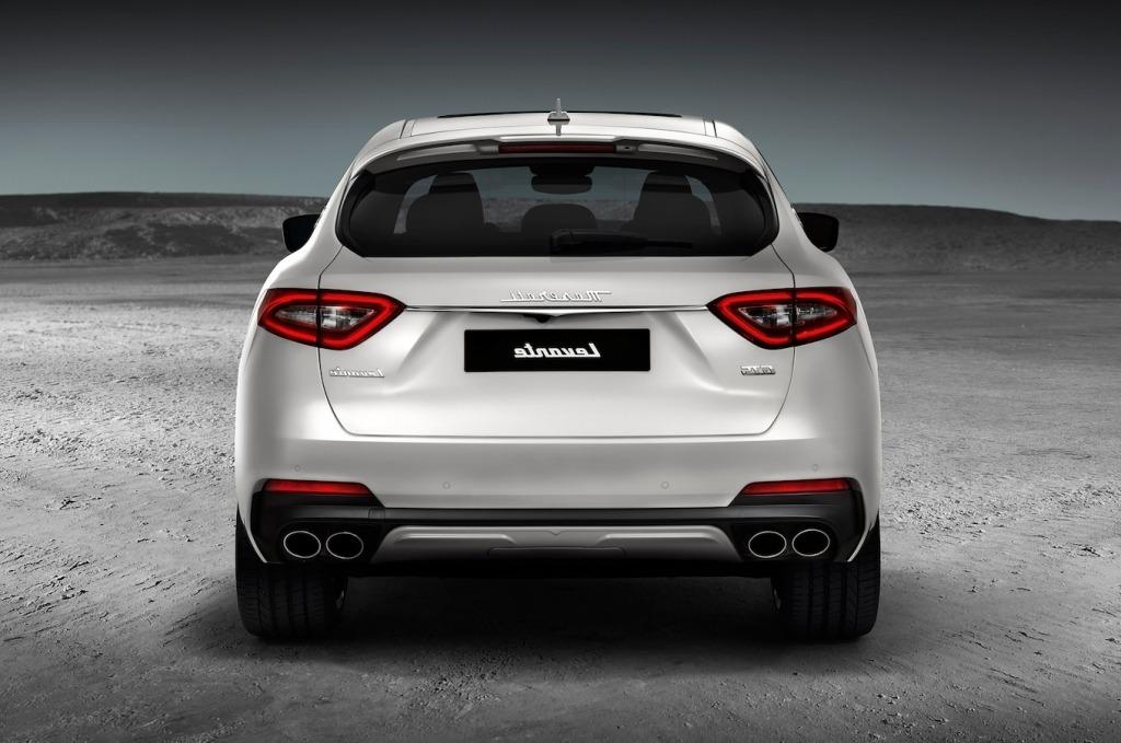 2019 Maserati Levante GTS Engine