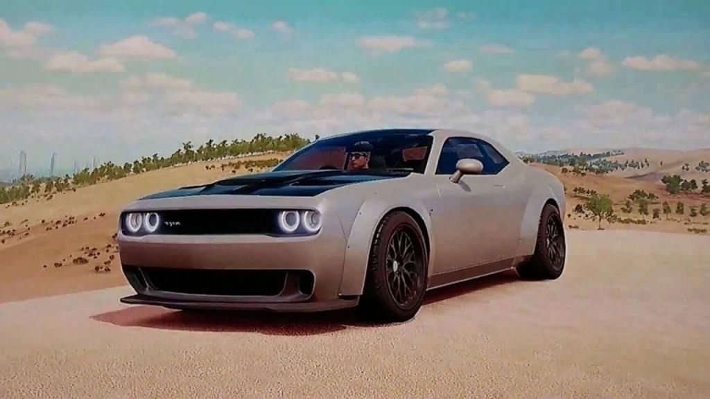 2020 Dodge Challenger Spy Shots