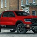2020 Dodge Dakota Pickup Truck Exterior