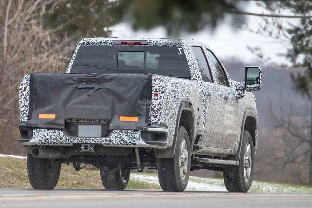 2020 GMC Sierra HD Redesign