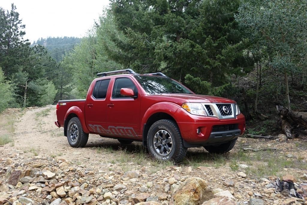 2021 Nissan Frontier Is Spy Shots