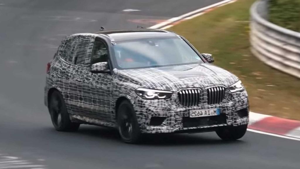 2020 BMW X5M Spy Photos