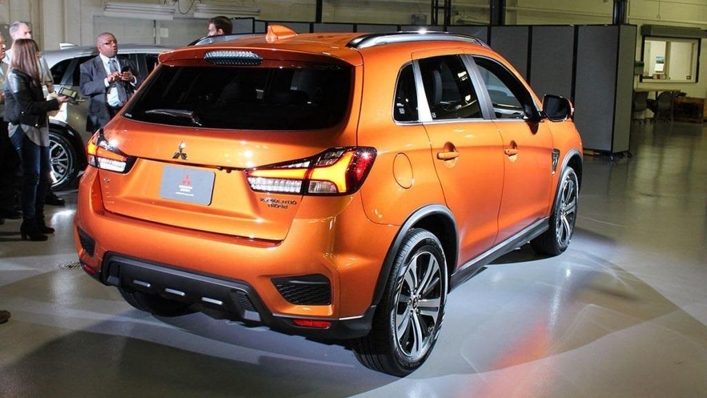 2020 Mitsubishi Outlander Redesign
