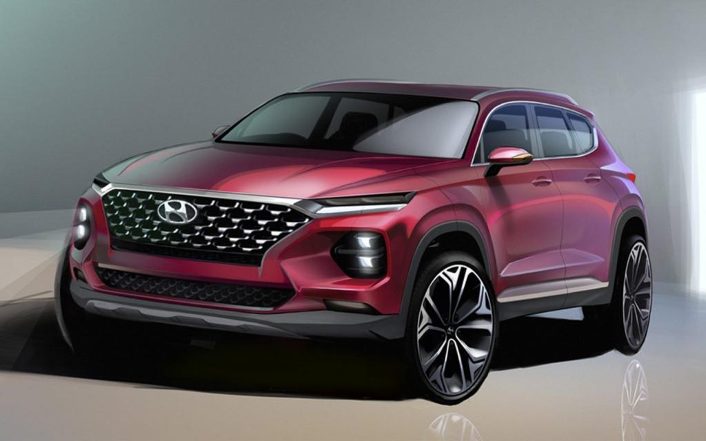 2021 Hyundai Santa Fe Concept