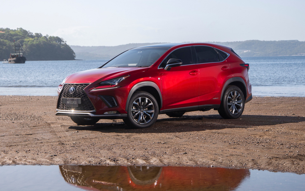 2021 lexus nx spy shots  suv models