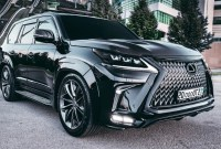 2021 Lexus LX Powertrain