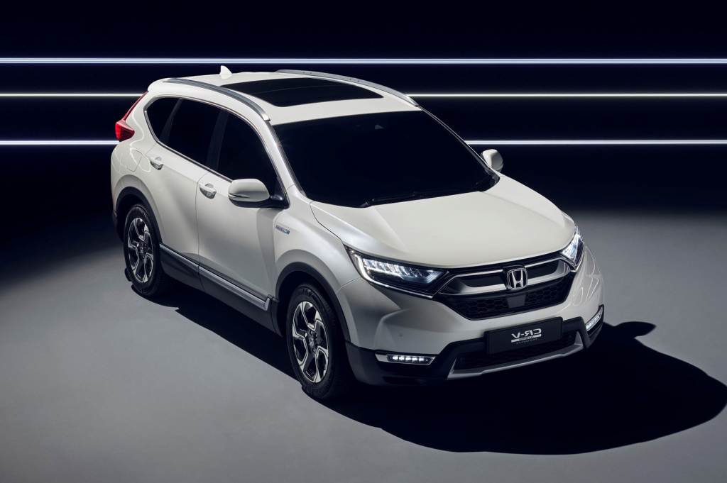 2022 Honda CRV Spy Photos