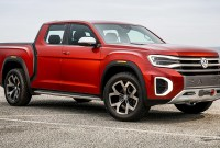 2021 VW Atlas Tanoak Spy Shots