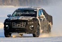 2022 Hyundai Santa Cruz Spy Shots
