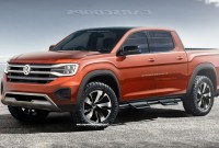 2022 VW Atlas Tanoak Pickup Truck Wallpaper