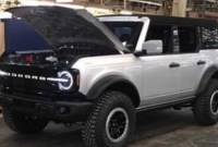 2022 Ford Bronco Pictures