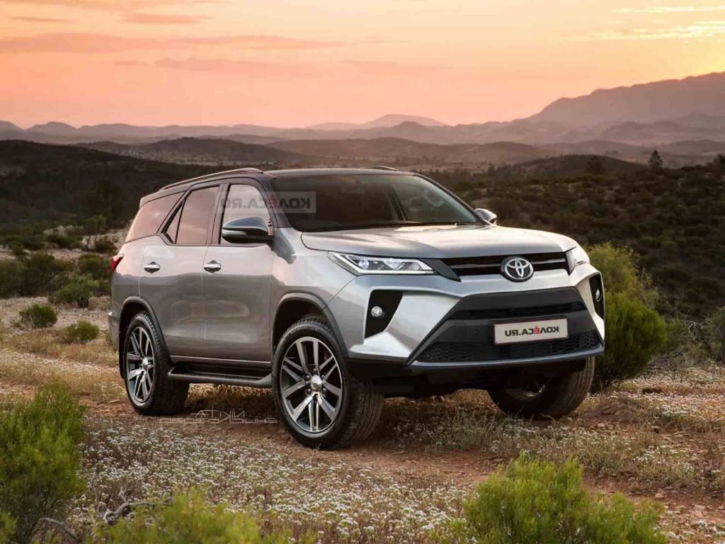 2021 Toyota Fortuner Concept