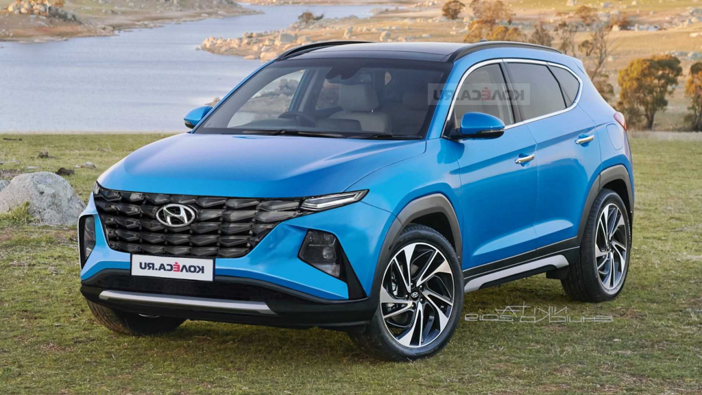 2022 Hyundai Tucson Spy Photos