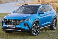 2022 Hyundai Tucson Spy Photos