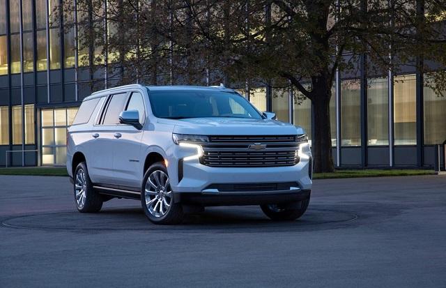Best Full-size SUVs for 2022 - Chevrolet Suburban