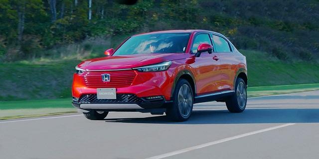 Honda HR-V -  Best Crossover SUVs 2022