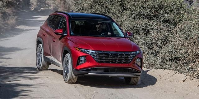 Hyundai Tucson -  Best Crossover SUVs 2022