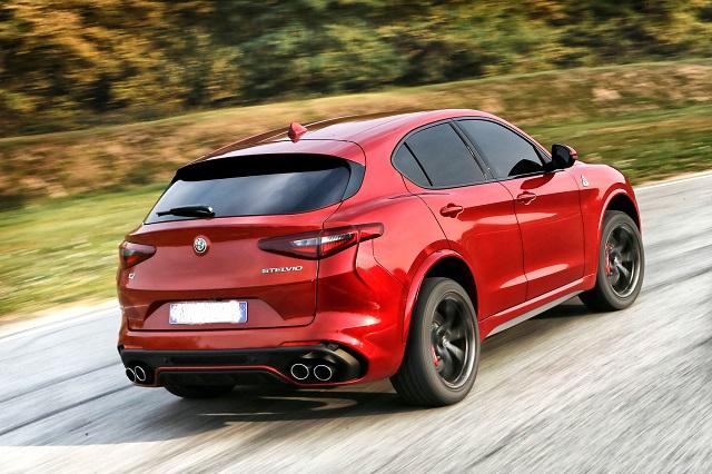 2022 Alfa Romeo Stelvio rear