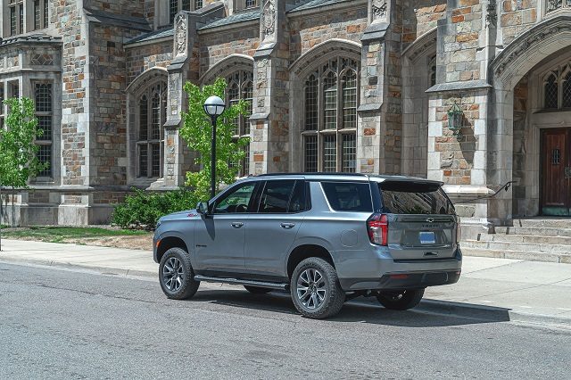2023 Chevy Tahoe rear