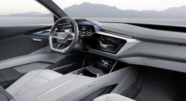 2019 Audi e-tron Quattro electric SUV interior