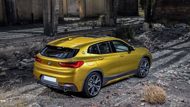 2019 BMW X2 rear