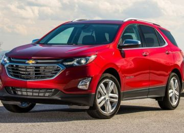 2020 Chevy Equinox front