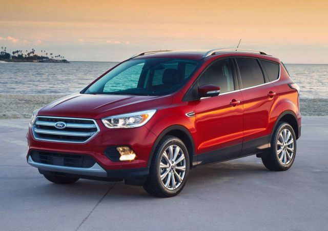 2019 Ford Escape front