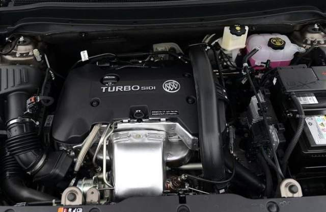 2019 Buick Envision engine
