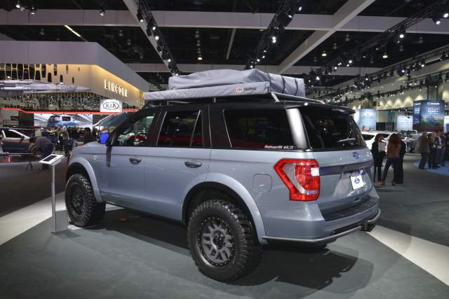 2019 Ford Expedition Baja-Forged Adventurer rear