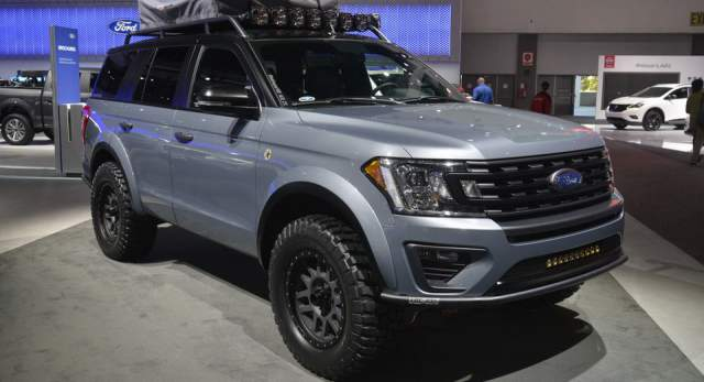 2019 Ford Expedition Baja-Forged Adventurer