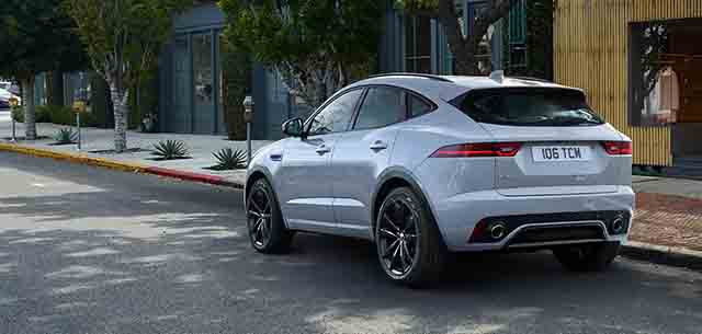 2019 Jaguar E-Pace rear
