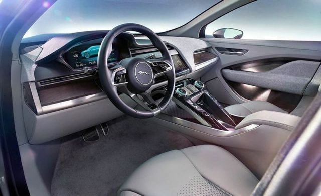 2019 Jaguar I-Pace EV interior