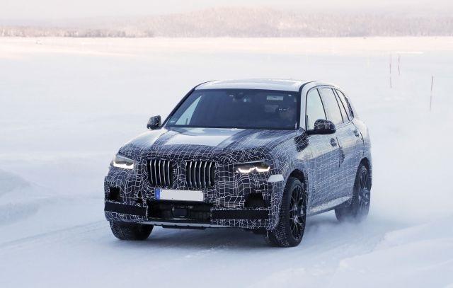 2020 BMW X5 M front